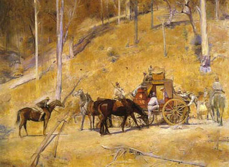 Bailed Up! by Tom Roberts