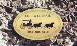 Cobb and Co Plaque