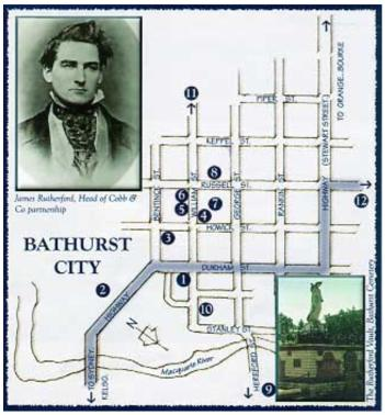 Bathurst City Map